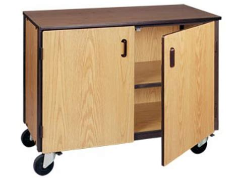 Low Storage Unit With 1 Adj Shelf & Doors Irw1001c