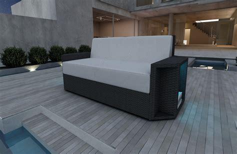 Divano Rattan - divano a 2 posti aventador in rattan in rattan nativo