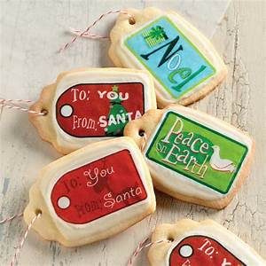 edible sugar gift tags With edible labels for cookies