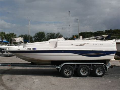 Vectra Deck Boats For Sale by Used Vectra Boats For Sale Boats