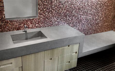 bathroom vanity custom concrete sink portfolio trueform Concrete