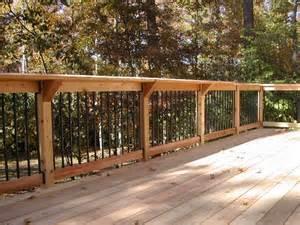Cedar Deck Railing Designs