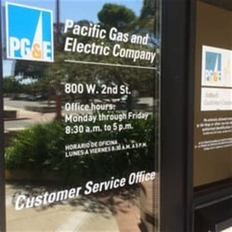 pg e customer service phone number pg e customer service office utilities 800 w 2nd st