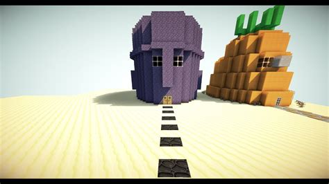 squidwards house  minecraft youtube