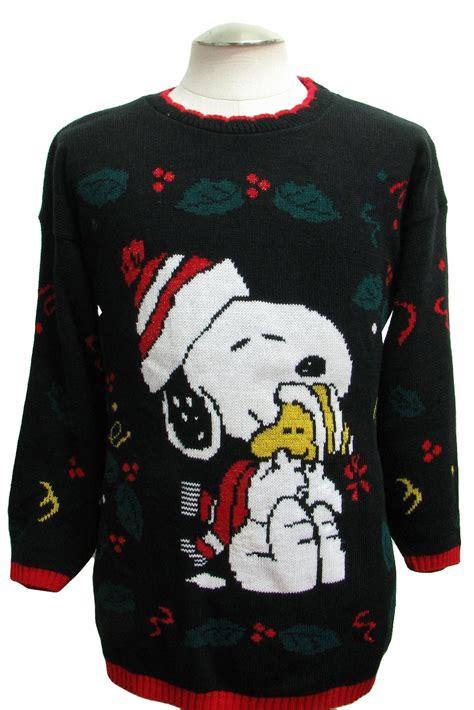 snoopy sweater 1980 39 s retro sweater 80s authentic vintage