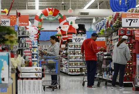 black friday walmart posts record results  pledges