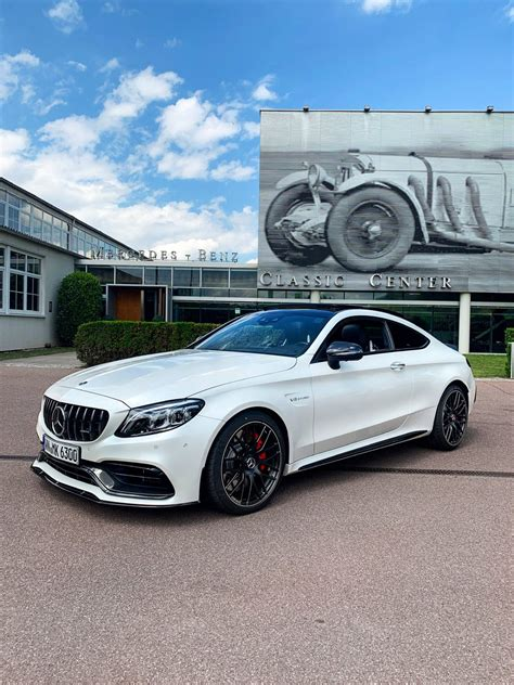 The amg c63 s packs a high power punch! 2020 Mercedes C63 Amg