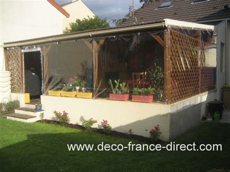 bache transparente terrasse