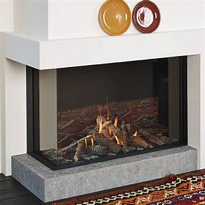 Lineafire Fireplaces Corner 100 Left  Wood And Gas