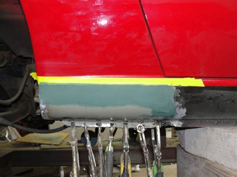 rust repair miata pictorial bondo panel smooth surfaces edges mate rough side under miataturbo chat general