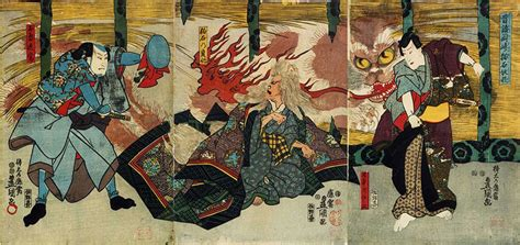 ukiyo  cats felines  japanese art
