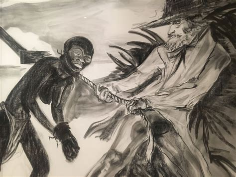 In New Drawings Kara Walker Traces American Histories Of Christianity And Racism
