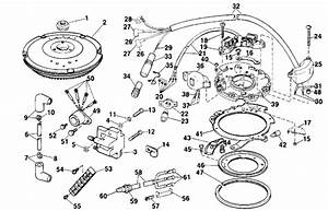 Evinrude Ignition Parts For 1989 9 9hp E10selces Outboard