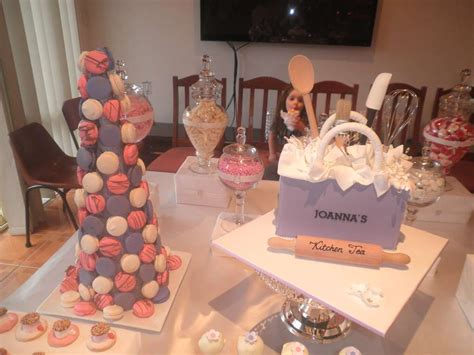 Pink And Purple Candy And Dessert Buffet Bridal/wedding