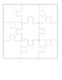 Puzzle Piece Template Printable