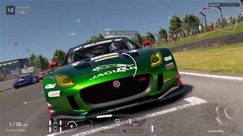 Gran Turismo Sport Jaguar F-type Gr.3 Car Single Race T300