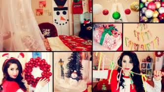 diy cute christmas room decor and organization easy dollar store diys youtube