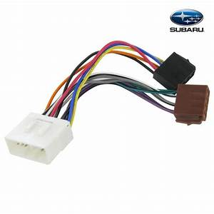 Connects2 Stereo Wiring Harness Adaptor Iso Lead For Subaru