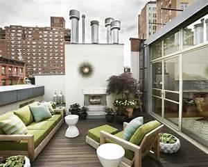 Terrasse Dekorieren Modern : eine dachterrasse gestalten neue fantastische ideen ~ Fotosdekora.club Haus und Dekorationen