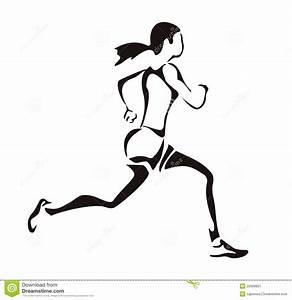 Woman Running Stock Image - Image: 22668821