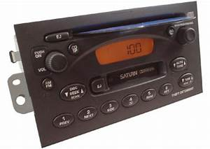 2003 Saturn Ion Factory Am  Fm Radio Cassette Cd Player