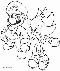 Printable Sonic Coloring Pages For Kids Cool2bkids