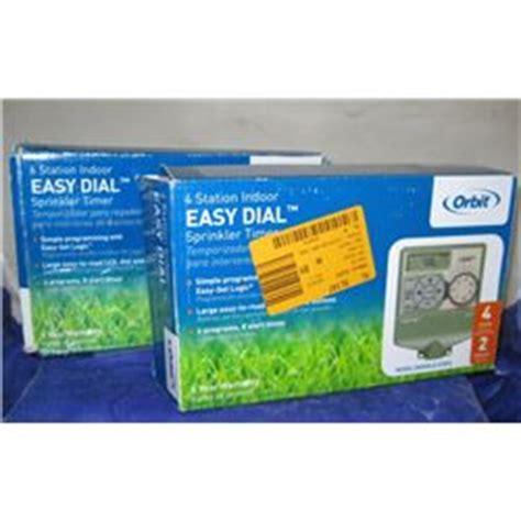 2 Orbit Brand Easy Dial Garden Timers