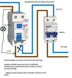fuga y salta la diferencial electricidad domiciliaria yoreparo electricidad cableado