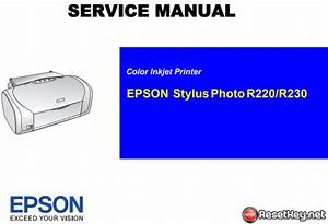 Free Download Epson R220  R230 Service Manual  U2013 Pdf