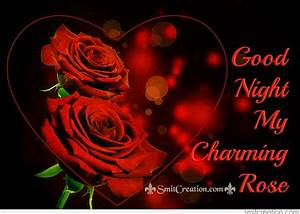 Good Roses Image With Good Night Message Good Night Love ...