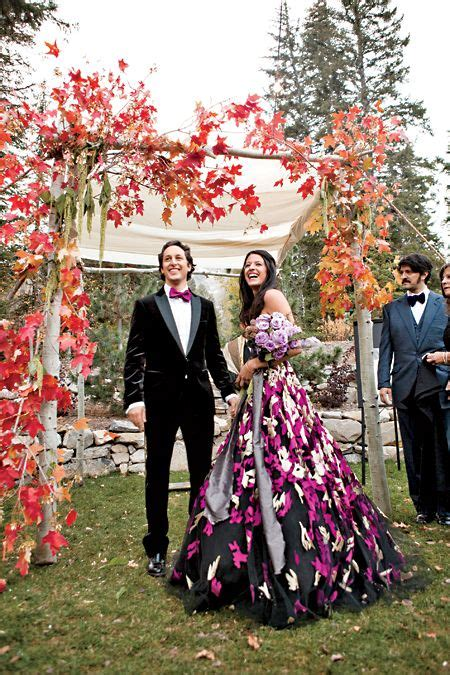 beautiful fall wedding backdrops   inspired