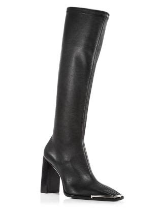 Alexander Wang Woman's Mascha High Heel Boots   Bloomingdale's