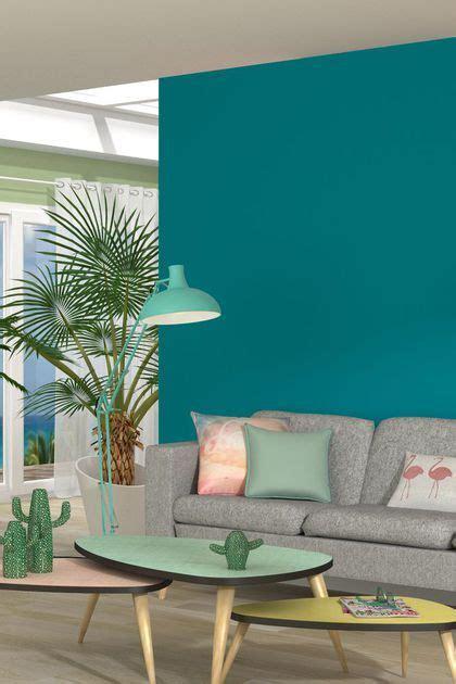 peinture salon 30 couleurs tendance pour repeindre le salon turquoise decor turquoise room