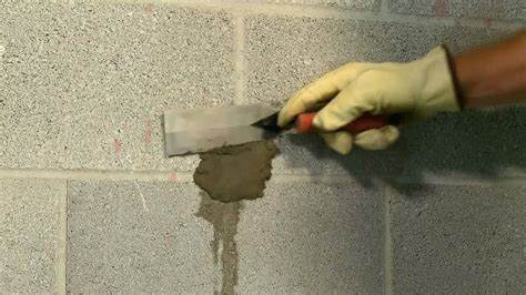 How to Stop Leaks in Concrete Walls   YouTube