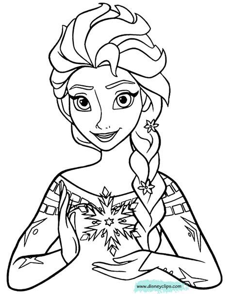 Coloring Elsa Frozen by Disney S Frozen Coloring Pages Disneyclips