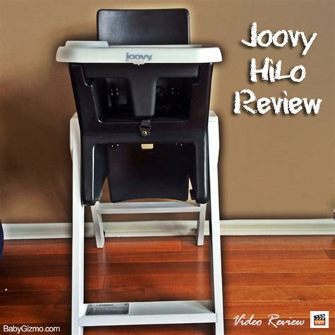 Joovy High Chair Wood by Baby Gizmo Spotlight Review Joovy Hilo High Chair
