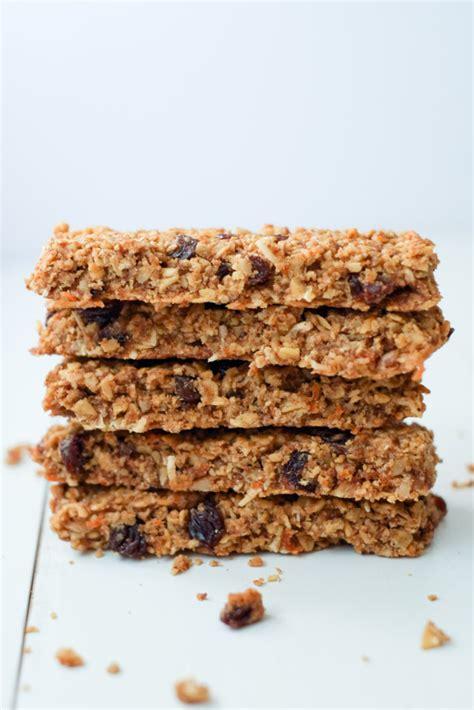 Healthy Seed Bar healthy carrot cake granola bars recipe