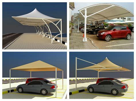 Car Shade by Car Parking Shade Designs