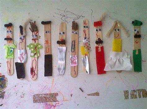 popsicle stick people craft stick crafts popsicle stick