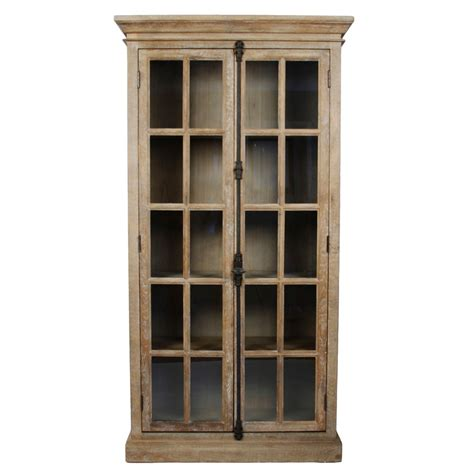 tall kitchen cabinets with glass doors winsome alps tall cabinet with glass door and drawer bar