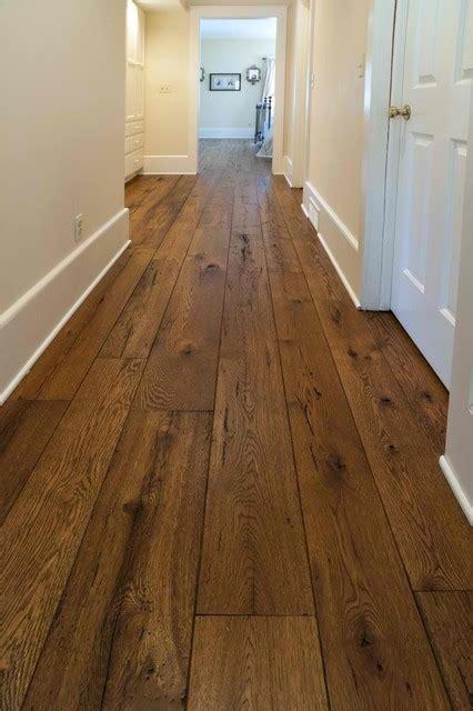 Refinishing Parquet Floors Diy by Antique Resawn Oak Hardwood Flooring Traditional Hall