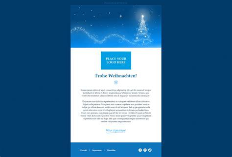 weihnachtsmail vorlagen fuer festliche kampagnen