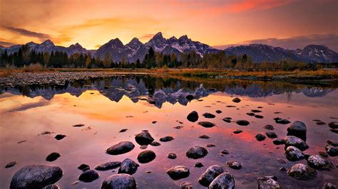 Artsy Fall Computer Backgrounds by Beautiful Nature Landscapes Color Reflection For