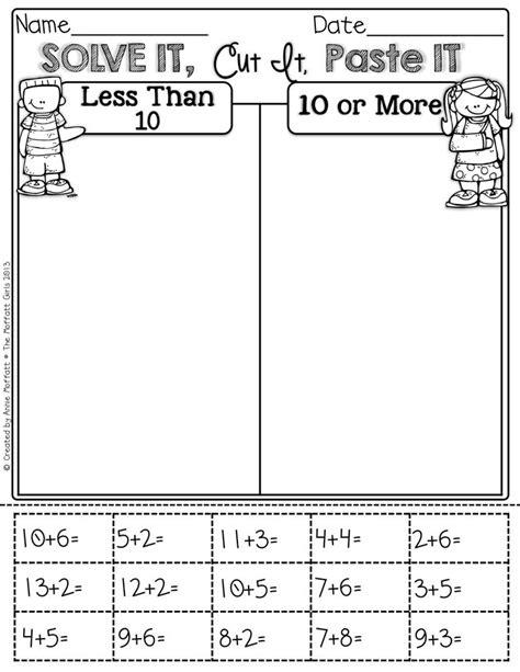 18 best images of grade math worksheets sorting