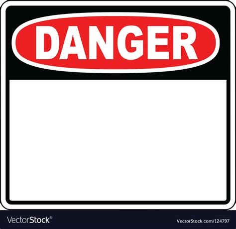 Danger Blank Sign Royalty Free Vector Image  Vectorstock. Firefighter Signs. Recipes Signs. 17 Week Signs. Yield Signs. Hap Signs. Phrases Signs. Breastfeeding Signs Of Stroke. Mnemonic Signs