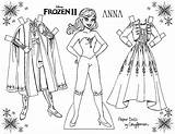 Paper Dolls Frozen Coloring Anna Elsa Printable Princess Doll Disney Cory Youloveit Clothes Own Drawing Colorir Right Activity Princesses Shannon sketch template