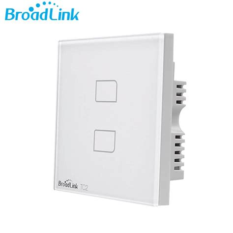 aliexpress buy broadlink tc2 2gang uk standard wall light switch 433mhz work with rm pro