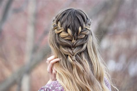 lace half up cute girls hairstyles