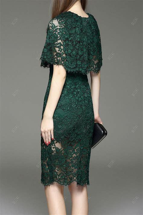 cut  lace capelet dress  style dresses capelet