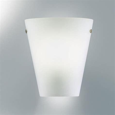 borgo di luce wall light white polished ceramic pottery